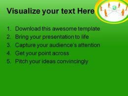 Communication Concept People PowerPoint Template 1110  Presentation Themes and Graphics Slide02