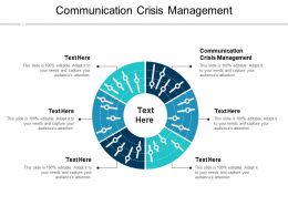 Communication Crisis Management Ppt Powerpoint Presentation Slides Graphic Images Cpb