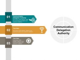 Communication Delegation Authority Ppt Powerpoint Presentation Gallery Demonstration Cpb