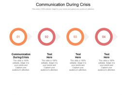 Communication During Crisis Ppt Powerpoint Presentation Model Files Cpb