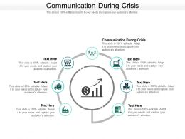 Communication During Crisis Ppt Powerpoint Presentation Slides Sample Cpb