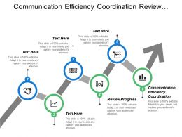 Communication Efficiency Coordination Review Progress Assess Role Category