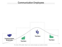 Communication Employees Ppt Powerpoint Presentation Portfolio Designs Download Cpb
