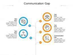 Communication Gap Ppt Powerpoint Presentation Portfolio Show Cpb
