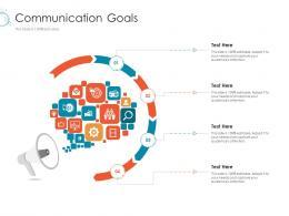 Communication Goals Online Marketing Tactics And Technological Orientation Ppt Microsoft