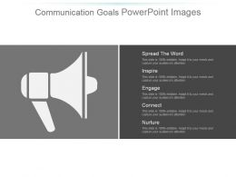 Communication Goals Powerpoint Images