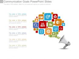 Communication Goals Powerpoint Slides