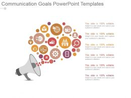 Communication Goals Powerpoint Templates