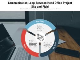 Communication Loop Between Head Office Project Site And Field