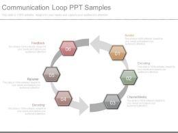 Communication Loop Ppt Samples