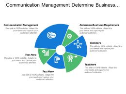 Communication Management Determine Business Requirement Effective Communication Market Intelligence