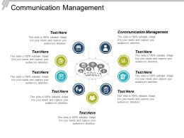 Communication Management Ppt Powerpoint Presentation Infographic Template Infographic Template Cpb