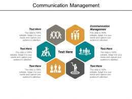 Communication Management Ppt Powerpoint Presentation Outline Professional Cpb