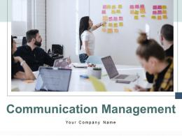 Communication Management Processes Organization Strategic Planning Marketing Information
