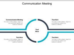 Communication Meeting Ppt Powerpoint Presentation File Microsoft Cpb