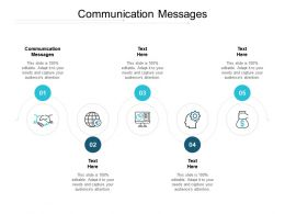 Communication Messages Ppt Powerpoint Presentation Outline Display Cpb
