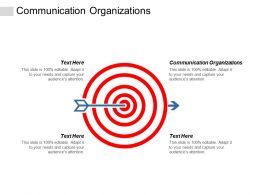 Communication Organizations Ppt Powerpoint Presentation Professional Elements Cpb