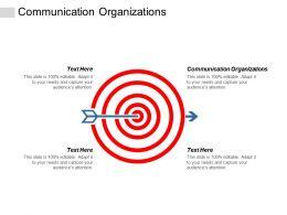 Communication Organizations Ppt Powerpoint Presentation Professional Elements Cpb
