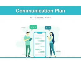 Communication Plan Business Management Information Target Marketing
