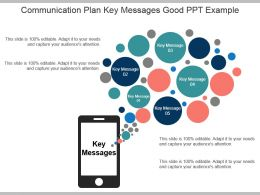 Communication Plan Key Messages Good Ppt Example