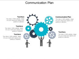 Communication Plan Ppt Powerpoint Presentation Outline Deck Cpb