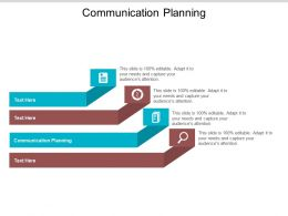 Communication Planning Ppt Powerpoint Presentation Gallery Infographic Template Cpb