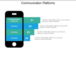 Communication Platforms Ppt Powerpoint Presentation Icon Gallery Cpb