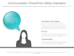 Communication Powerpoint Slides Inspiration