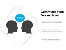 Communication Process Icon
