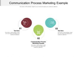 Communication Process Marketing Example Ppt Powerpoint Presentation Professional Inspiration Cpb