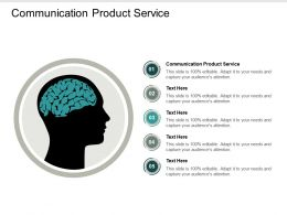 Communication Product Service Ppt Powerpoint Presentation Infographic Template Gallery Cpb
