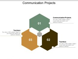 Communication Projects Ppt Powerpoint Presentation Gallery Guide Cpb