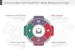 Communication Skill Powerpoint Slides Background Image