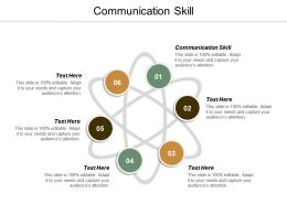 Communication Skill Ppt Powerpoint Presentation Professional Structure Cpb