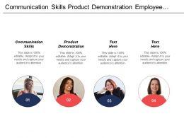 Communication Skills Product Demonstration Employee Engagement Personal Development