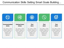 Communication Skills Setting Smart Goals Confidence Building Value Feedback