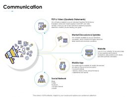 Communication Social Network Ppt Powerpoint Presentation Gallery Format