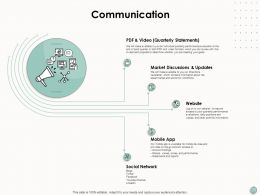 Communication Social Network Technology Ppt Powerpoint Presentation Outline Ideas