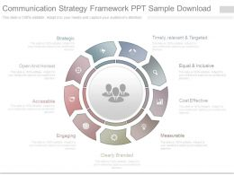Communication Strategy Framework Ppt Sample Download