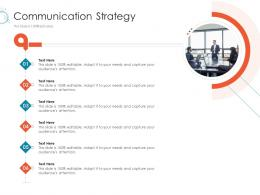 Communication Strategy Online Marketing Tactics And Technological Orientation Ppt Inspiration
