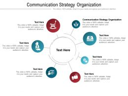 Communication Strategy Organization Ppt Powerpoint Presentation Pictures Background Image Cpb