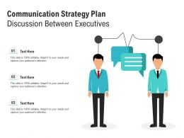 Communication Strategy Plan Discussion Between Executives