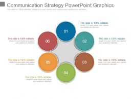 Communication Strategy Powerpoint Graphics
