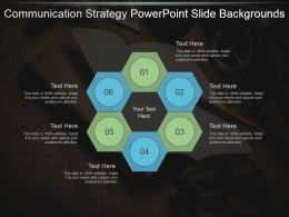 Communication Strategy Powerpoint Slide Backgrounds