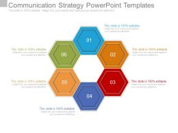 Communication Strategy Powerpoint Templates