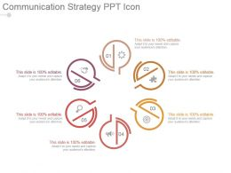 Communication Strategy Ppt Icon