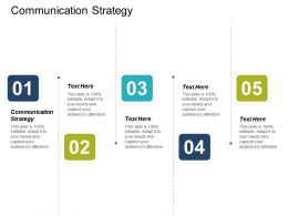 Communication Strategy Ppt Powerpoint Presentation Infographic Template Inspiration Cpb