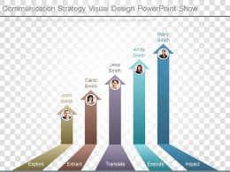 Communication Strategy Visual Design Powerpoint Show