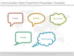 Communication Styles Powerpoint Presentation Templates