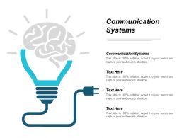 Communication Systems Ppt Powerpoint Presentation File Guide Cpb